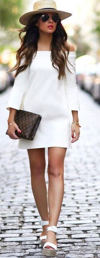 #summer #young #girls #outfits |  Little White Dress