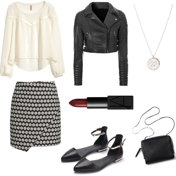 Dressed to kill by bambyee on Polyvore featuring polyvore fashion style H&M Glamorous Links of London NARS Cosmetics