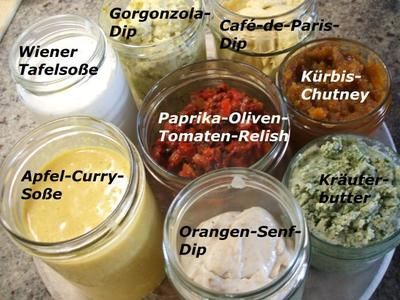 Rezept: Soßen: 8 Köstlichkeiten zum Silvester-Fondue