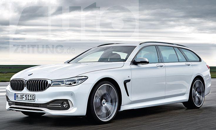 BMW 5er Touring (G31): Detroit Auto Show 2017