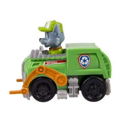 Paw Patrol Racers, Rocky's Recycling Truck Vehicle, Green