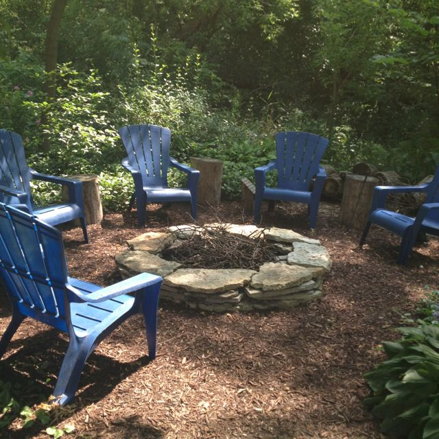 Top 25 ideas about outside clean up and fun on pinterest for Gravel around fire pit