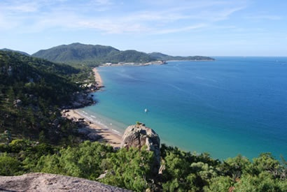 Magnetic island- View from Hawkings Point Lookout