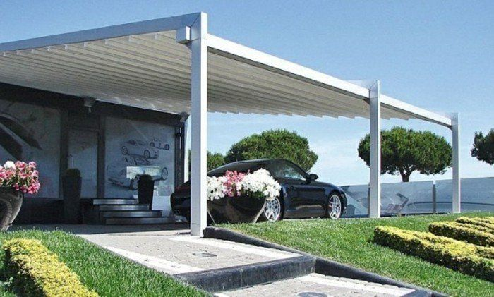 Best 25 abri voiture aluminium ideas on pinterest abri for Pergola pour voiture