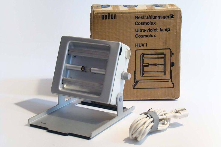 BRAUN HUV 1 COSMOLUX - (UV/IR light) - Dieter Rams - 1964 - VERY RARE | Arte e antiquariato, Modernariato, Complementi d'arredo | eBay!