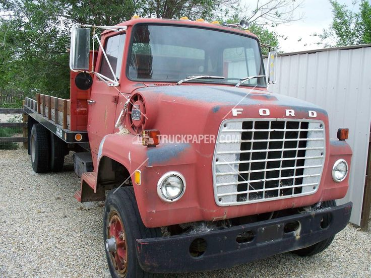 1980 FORD 8000 Heavy Duty Trucks - Flatbed Trucks For Sale At TruckPaper.com