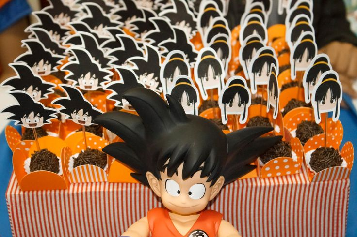 17 best images about dragon ball birthday party on for Decoration murale dragon ball z