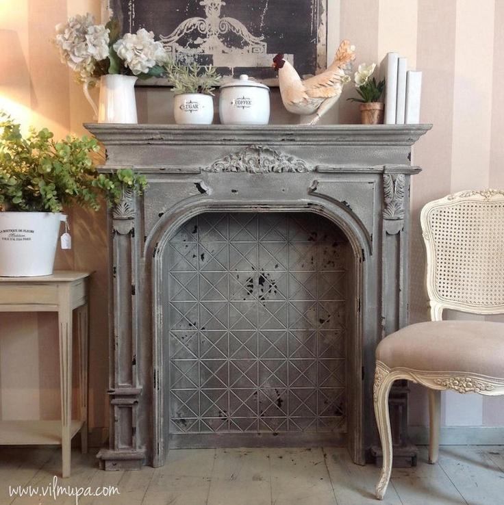 17 mejores ideas sobre chimenea decorativa en pinterest for Chimeneas de madera