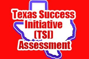 The Texas Success Initiative (TSI) Assessment is a battery of tests for students who are about to enter college. There are three components of the test: reading, math, and writing.