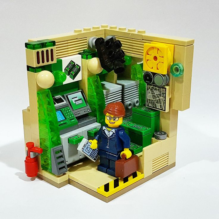 24 Hours Automated Banking Machine 2856 best Lego