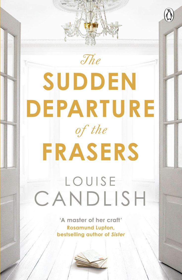 6 great mystery and thrillers worth a read, including The Sudden Departure of the Frasers by Louise Candlish.