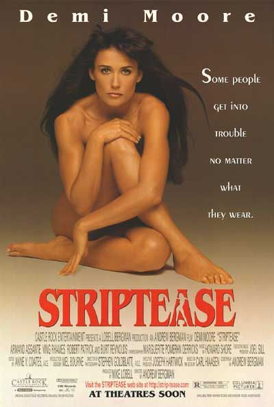 Striptease, 1996- Burt Reynolds was hilarious in this movie!