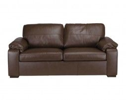 lovely compact 2 seater leather sofa, visit www.livnstyle.co.uk to view more.
