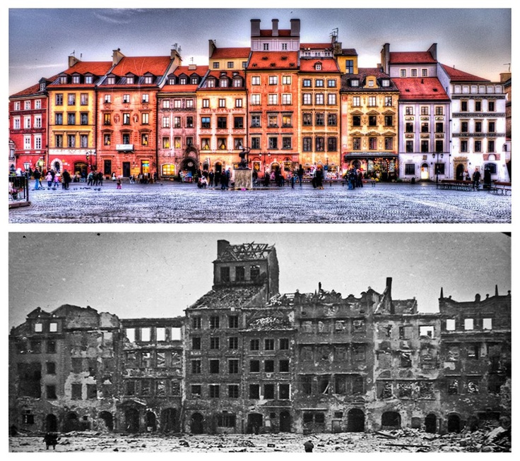 Old Town 1939/2009, Warsaw, Poland