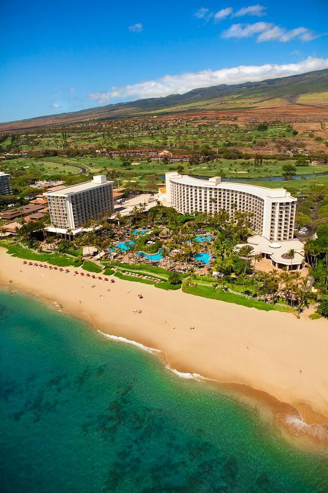 Kaanapali Beach, Maui. An absolutely beautiful resort.  Can't wait to go back.