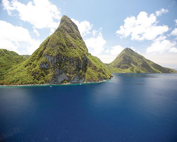 St Lucia by helicopter 5 Scary Things to do in St. Lucia