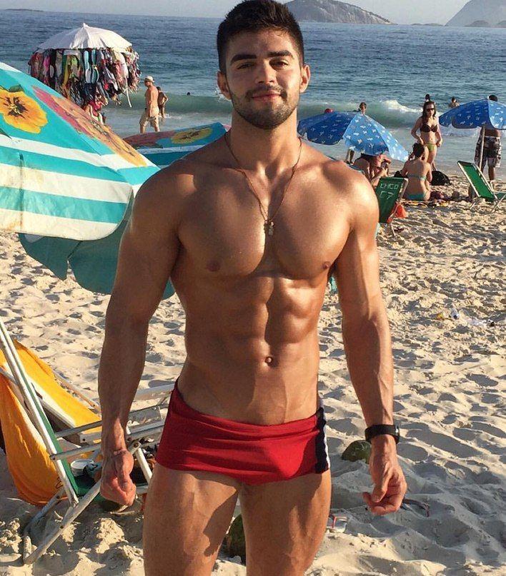 Hot Guys At The Beach