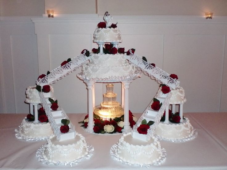 My daughters wedding cake by LizzyLix.deviantart.com on @deviantART
