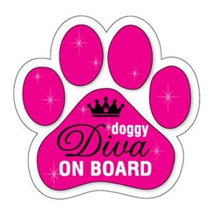 Dog Lover fridge magnets, bumper stickers, and window decals featuring over 100 different dog breeds.