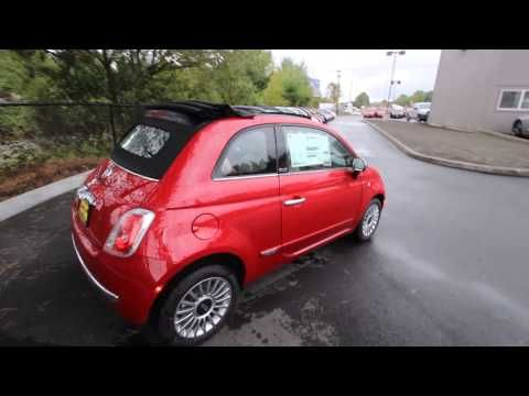 DT739600 | 2013 Red Fiat 500c Lounge Convertible | Rairdon's FIAT of Kirkland |
