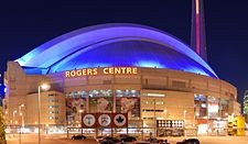 Rogers Centre - home of the Toronto Blue Jays and Toronto Argonauts