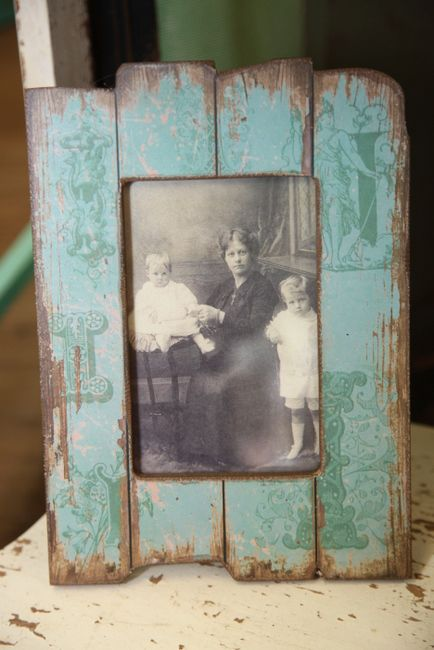 Old wood picture frame ♥ Furniture woodworking plans how to build a chest of drawers