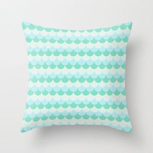 Mint Pillow Cover Throw Pillow Nursery Pillow Baby door MeninaLisboa, $35.00