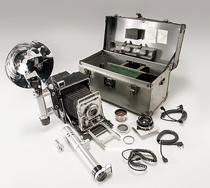 Graflex Speed Graphic Camera Set | eBay