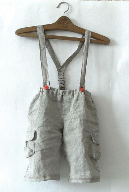 """Одежда для мальчиков, ручной работы. Ярмарка Мастеров - ручная работа Летний комплект """"Том Сойер"""". Handmade."""