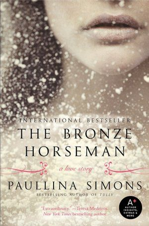 The Bronze Horseman... BEST book I have EVER read... EVER. Such an amazing love story! Didn't want this book to end, seriously good... :)