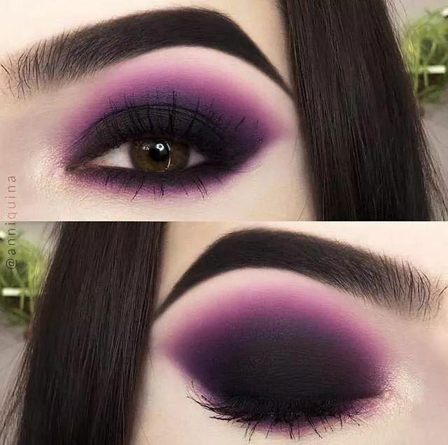 Rhema Halloween 2020 Pin by Rhema Shalom on Makeup ✨ in 2020 | Purple eye makeup