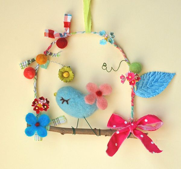 Birds crafts for children for spring - 100 and more projects Sweet porridge…