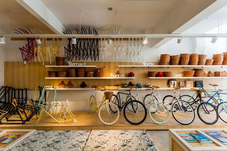 Bike shop Nidolab architecture