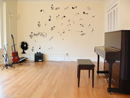 Musical Note Decal