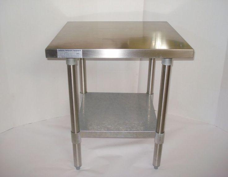 "24x24"" Stainless Steel Commercial Kitchen CALIF RESTAURANT ..."