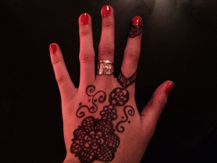 Diy henna for the first time