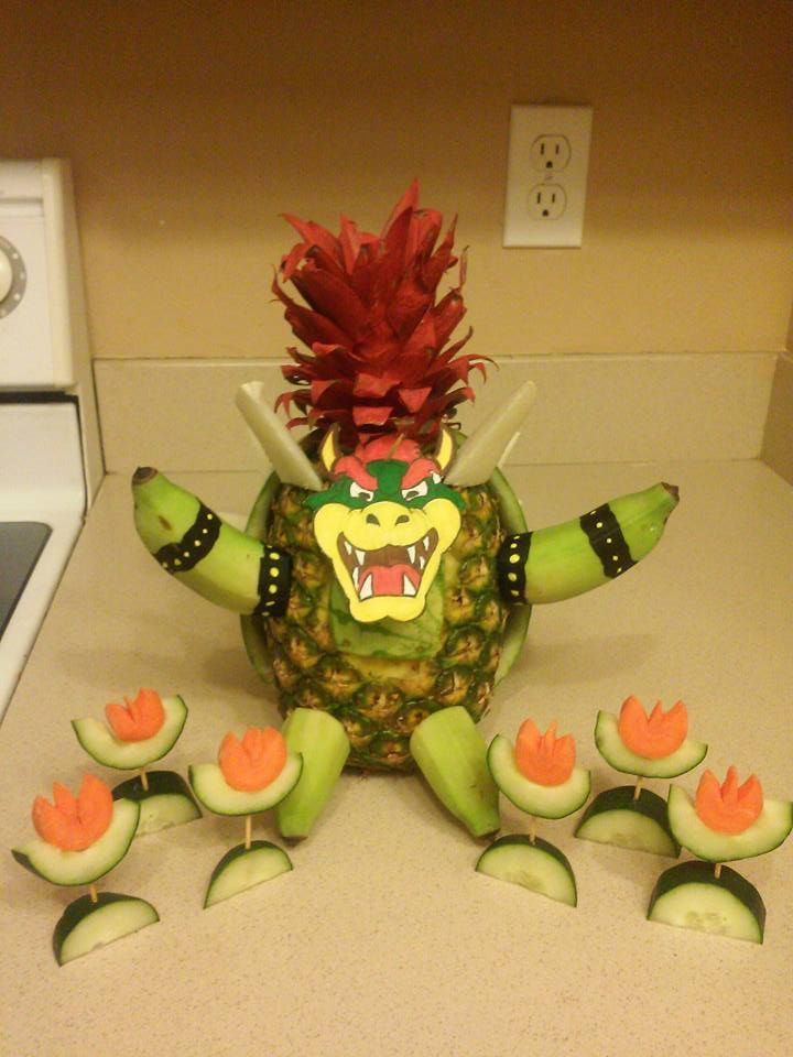 Super Mario Bros Bowser Fruit