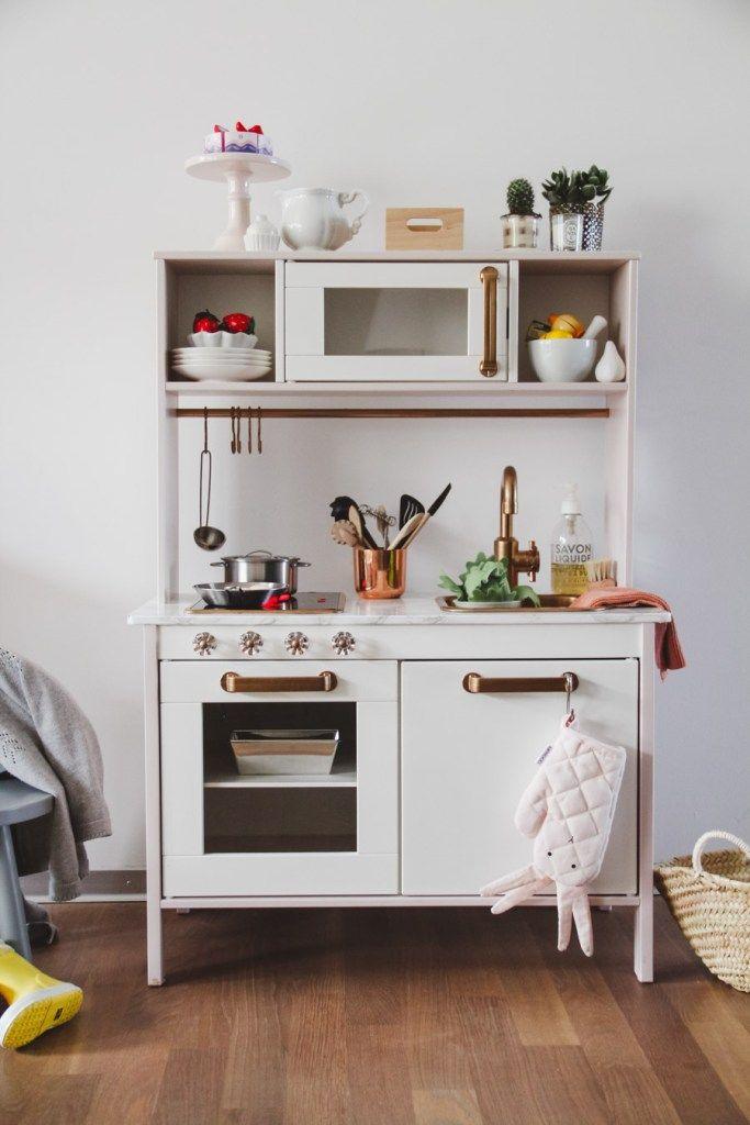IKEA Kinderküche pimpen: Eine kleine Anleitung | Baby | Pinterest ...