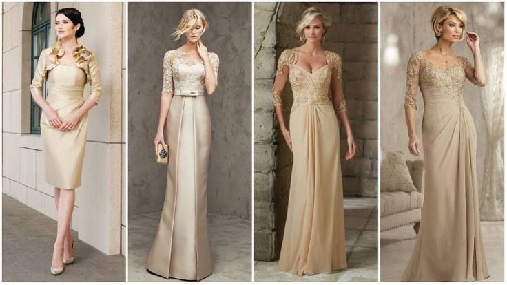 The Most Beautiful Mother Of The Bride Dresses For Stylish