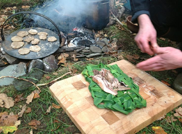 Fish & Banocks, how people cooked in The Glen of The Red River