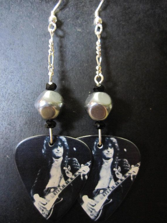 Jimmy page earrings?! AWESOME! I could die without these!