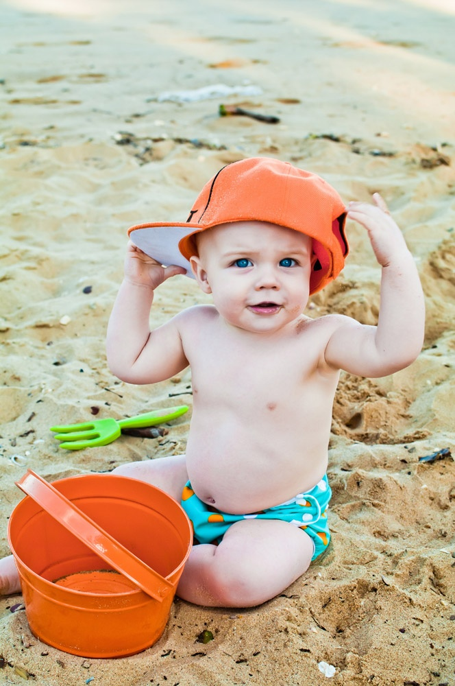 Cushie Tushies aqua swim nappy - great value for money and soft on the inside and out - $19.95