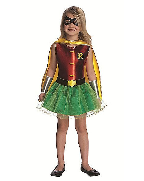 Batman Robin Tutu Girls Costume - Spirithalloween.com