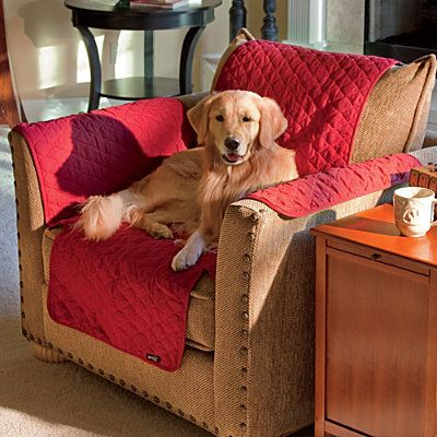 DIY Furniture Covers ... measure couch, buy the fabric online and sew both sides together to create custom fit.