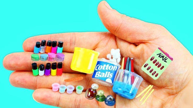 Wie man 100% echte Miniatur-Nagelpflegemittel, Nagellack – 10 … – miniaturen, miniaturas, miniatures