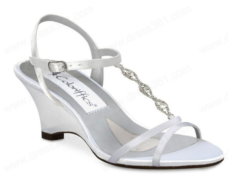 White Low Heels Weddings Shoe | Dyeable Wedding Shoes a Perfect Shoes for Bridesmaids | Wedding Shoes