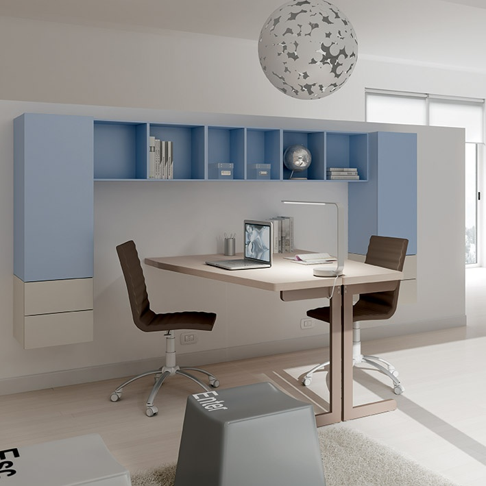28 best arredamento azzurro images on pinterest compact for Mensola con cassetti ikea