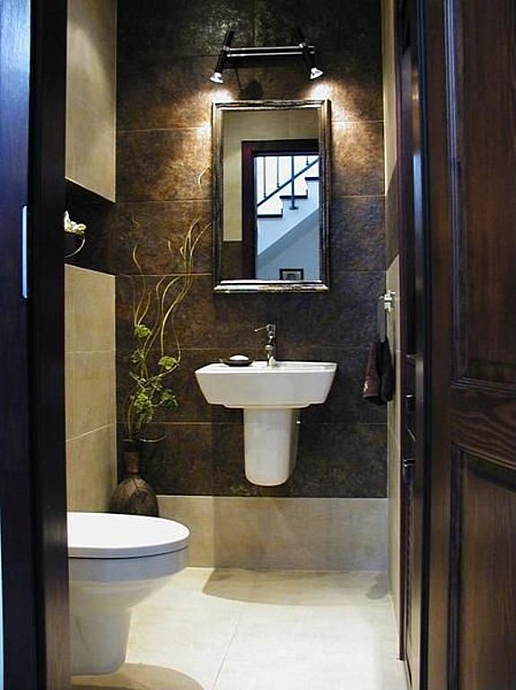 125 best Bad images on Pinterest Bathroom, Bathroom cabinets and - luxus badezimmer modern braun