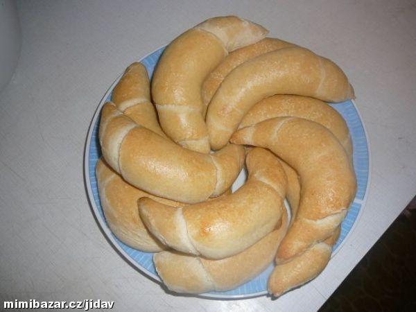Velice chutné české rohlíčky jako od pekaře Od švagrové ne zkopírovaný jak jsem byla nařčená
