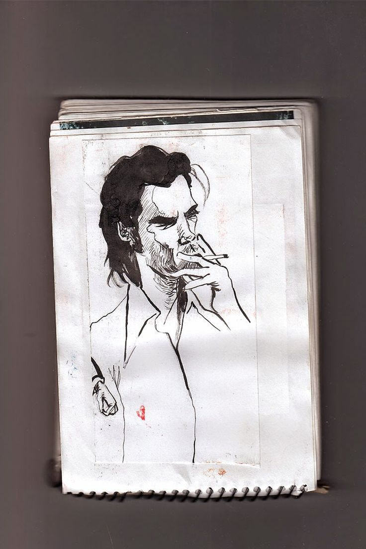 #NICKCAVE author by the book: The Death of Bunny Munro | Victor-Abarca-Ilustraciones